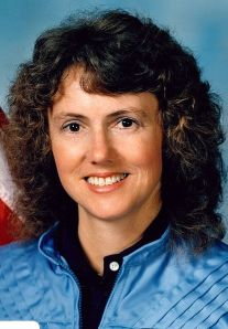 Photo of Christa McAuliffe from the Space Shuttle Challenger; Carla Franklin