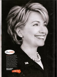 More Magazine - Fierce List: Hillary Clinton; Carla Franklin