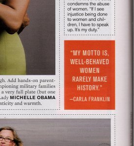 More Magazine - Fierce List: Carla Franklin
