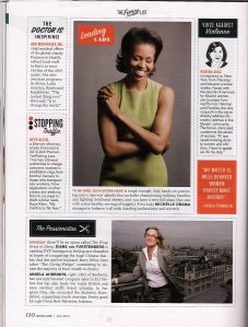 More Magazine - 2011 Fierce List: Carla Franklin