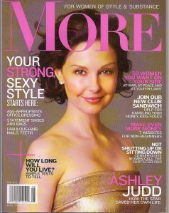 More Magazine - May 2011 Cover; Carla Franklin