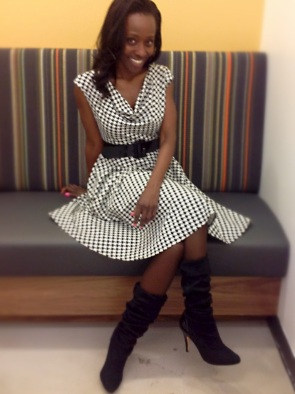 Houndstooth fashion - Carla Franklin