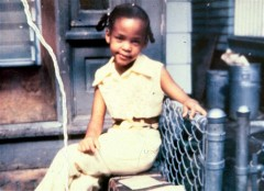 Whitney Houston baby - Carla Franklin